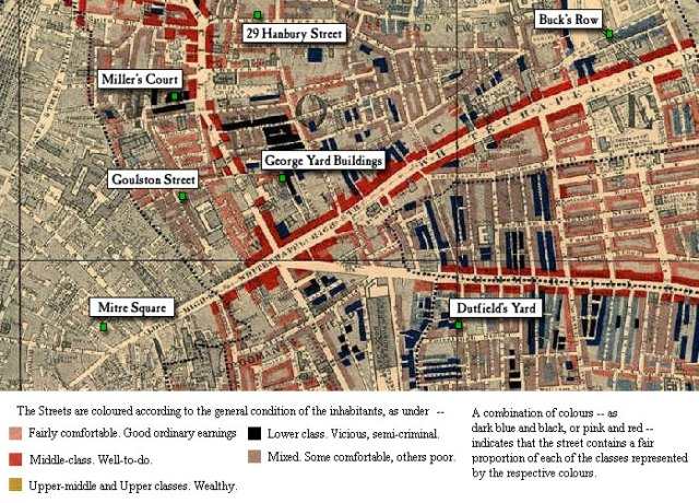 Whitechapel map