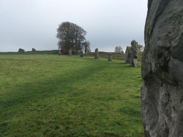 Up close and personal at Avebury Stone Circle