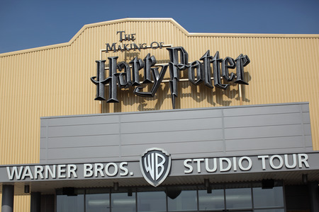 Harry Potter Studios at Warner Bros Leavesden.