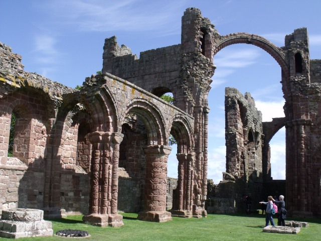 The ruins of Holy Island