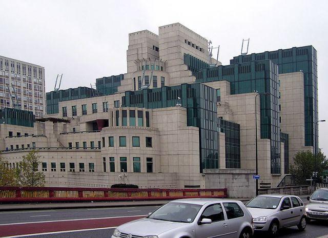 MI6 Building, London.