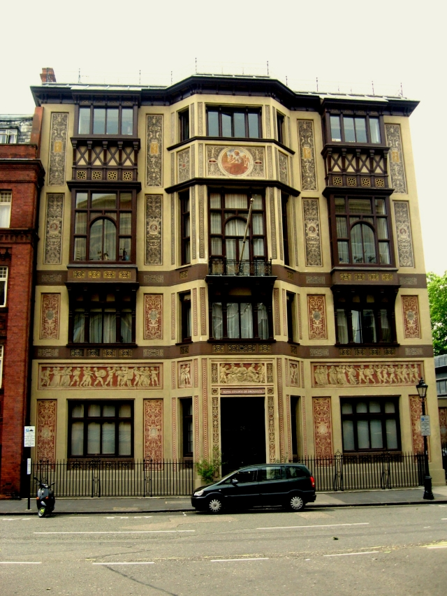 The home of Harry in Mr. Selfridge